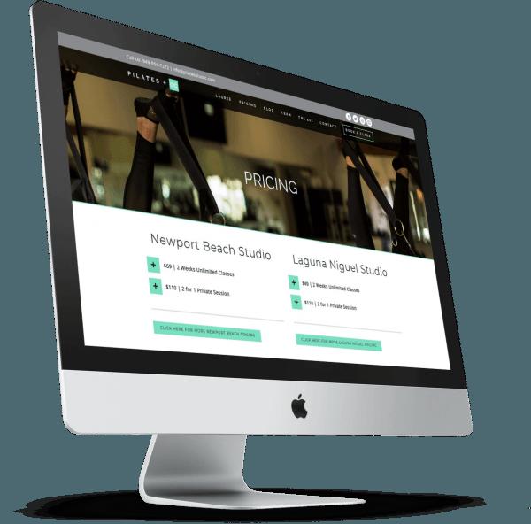 Designing Hawaii Plilates Studio Web Design 600x592 1