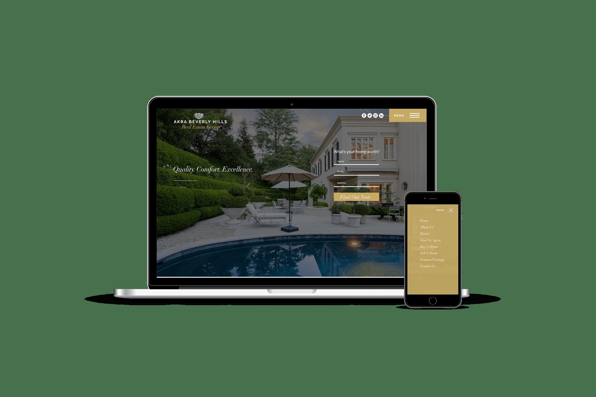Real Estate Web Design Beverly Hills Davey Duarte
