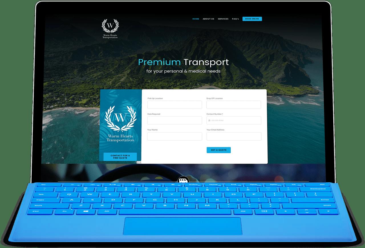 The Hawaii Agency Website Development Transportation.jpg Case Studies