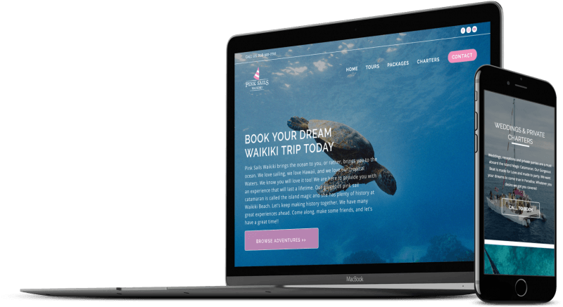 Web Design in Hawaii Designing Hawaii 800x437 1 Case Studies