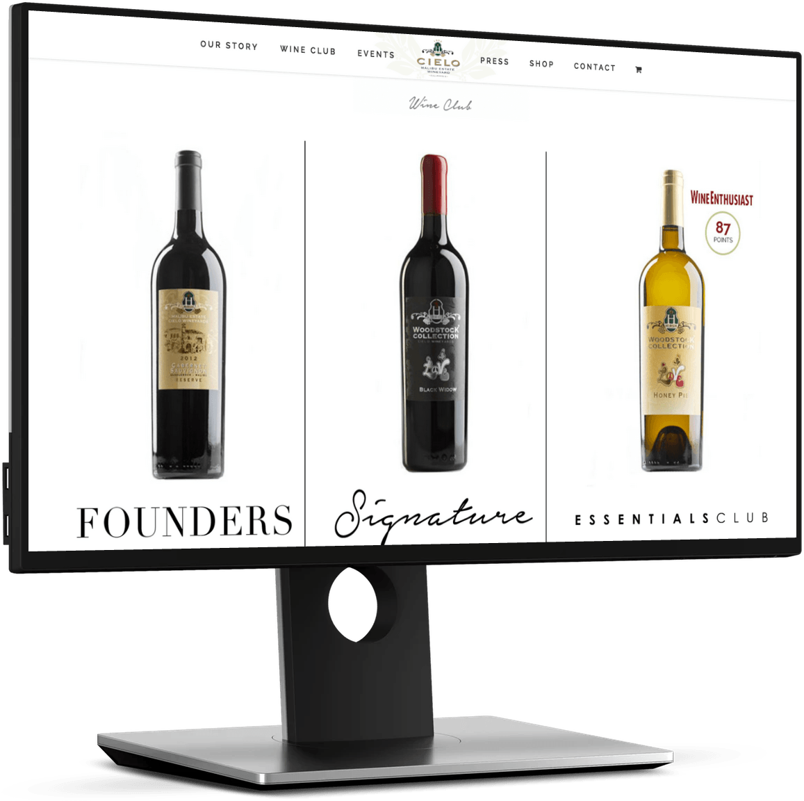 Winery Web Designer Davey Duarte Los Angeles